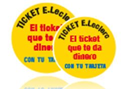 Tickets E.Leclerc